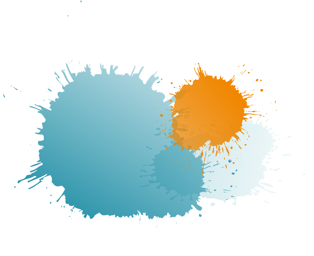 http://große-farbkleckse-blau-orange