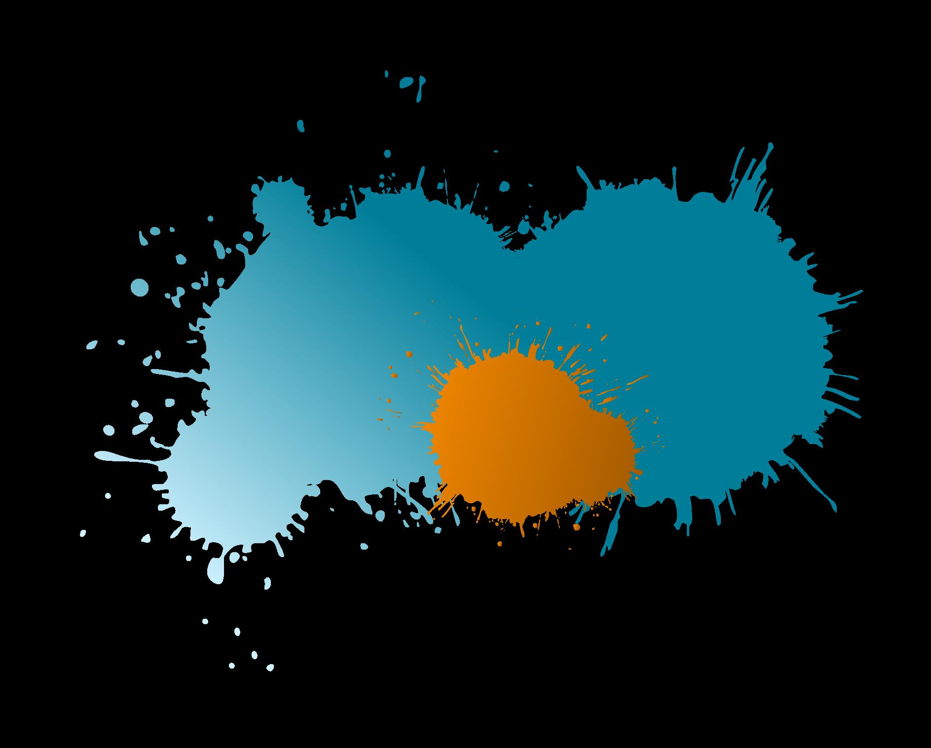 http://orange-blaue-farbkleckse-groß