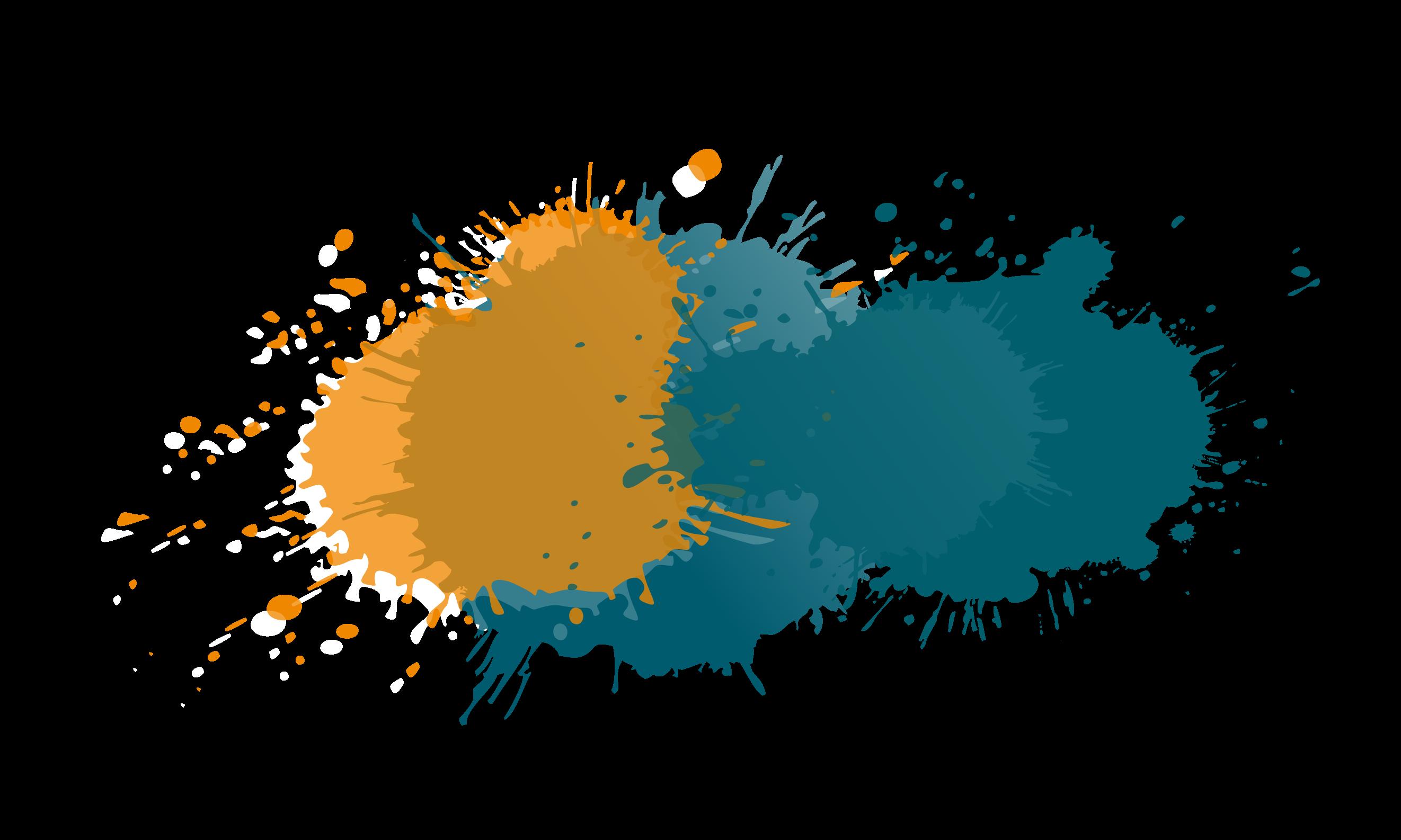 http://farbkleckse-blau-orange-weiß